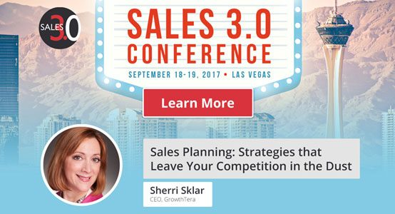 Join Me at One of 2017's Premier Sales Conferences